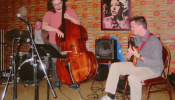 Dan Phillips Trio at the Velvet Lounge 2003 with Krzysztof Pabian and Tim Mulvenna