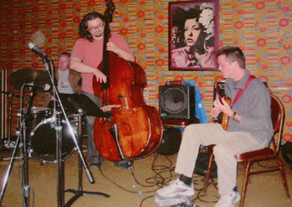 Dan Phillips Trio at the Velvet Lounge 2003