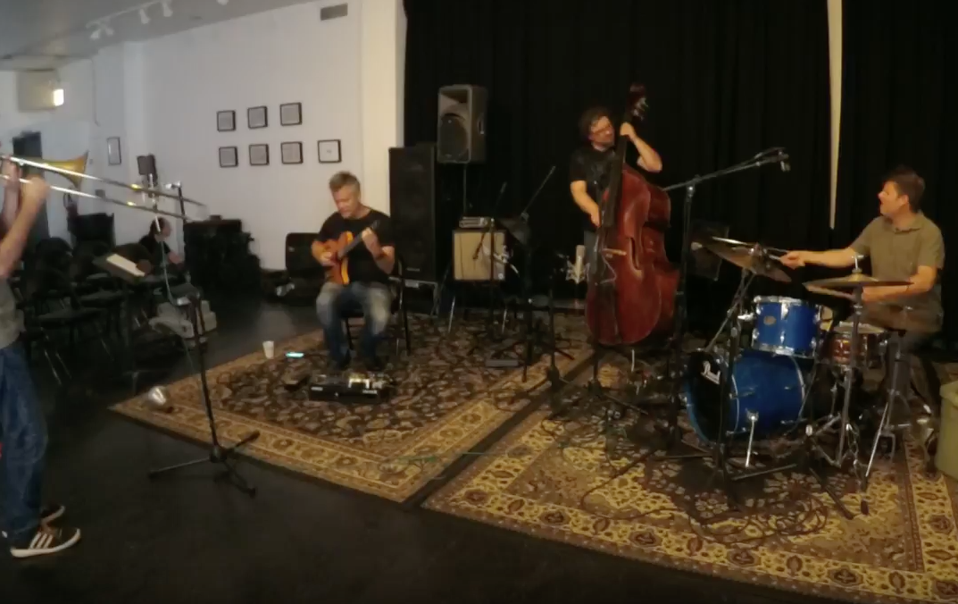 Dan Phillips Quartet featuring Jeb Bishop, Krzysztof Pabian, Timothy Daisy